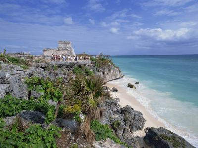 Mayan Ruins of Tulum, Yucatan Peninsula, Mexico, North America-Miller John-Photographic Print