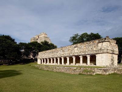 Mayan Ruins of Uxmal, UNESCO World Heritage Site, Yucatan, Mexico, North America-Balan Madhavan-Photographic Print