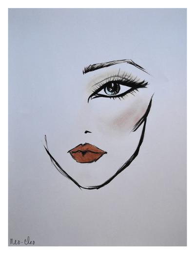 MaybellineNY_NeoCleo-Cara Francis-Art Print