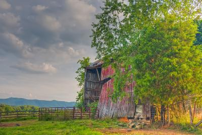 Mayberry Barn-Bob Rouse-Photographic Print