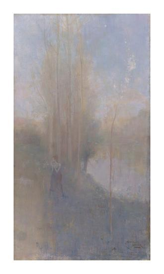 'Mayday'-Charles Conder-Premium Giclee Print