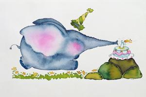 Birthday Elephant, 1998 by Maylee Christie