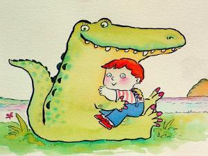 Crocodile Hug, or Best Friends by Maylee Christie
