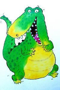 Happy Crocodile by Maylee Christie