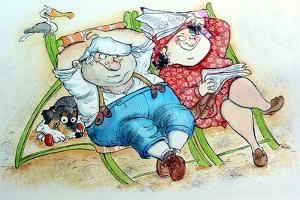 Holidays on the Beach by Maylee Christie