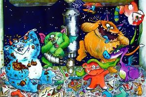 Monsters under the Sink by Maylee Christie