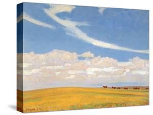 Prairie after Storm, 1921 by Maynard Dixon
