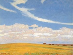 Prairie after Storm, 1921 by Maynard Dixon