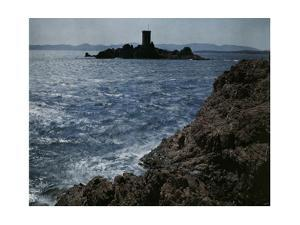 A View of the Rocky Coast at Agay by Maynard Owen Williams