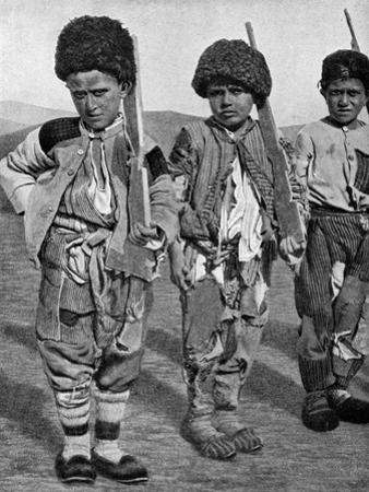 Boys from Artemid, Armenia, 1922