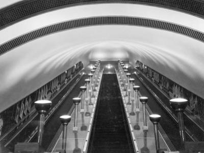 Escalators in a Tube Station