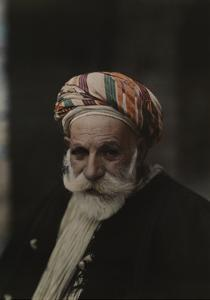 Portrait of an Older Man Wearing a Turban by Maynard Owen Williams