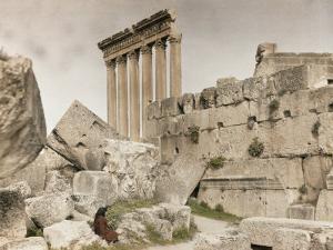 Ruins of the Temple of Jupiter by Maynard Owen Williams