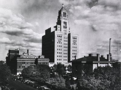 Mayo Clinic and Foundation, in Rochester, Minnesota in 1928--Photo