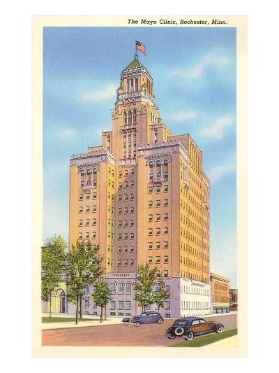 Mayo Clinic, Rochester, Minnesota--Art Print