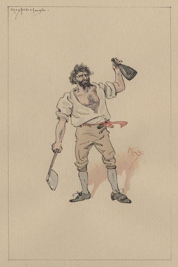 Maypole Hugh, C.1920s-Joseph Clayton Clarke-Giclee Print