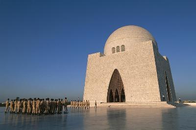 Mazar-E-Quaid, Jinnah Mausoleum or National Mausoleum, 1970, Karachi, Pakistan--Photographic Print