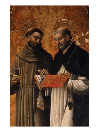 Polyptych, Saints Francis and Dominic