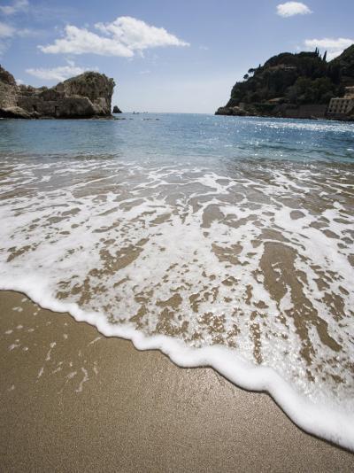 Mazzaro Beach, Taormina, Sicily, Italy, Mediterranean, Europe-Martin Child-Photographic Print