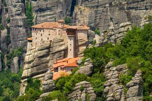 The Holy Monastery of Rousanou (St. Barbara) at Meteora, Trikala Region in Greece by mazzzur