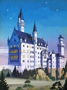Neuschwanstein -- a Fairy-Tale Castle Built by a 'Madman' by Mcbride