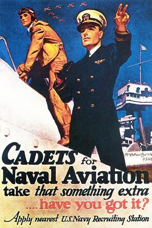 Cadets for Naval Aviation Take That Something Extra, 1943