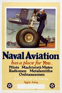 Naval Aviation Has a Place for You… by McClelland Barclay