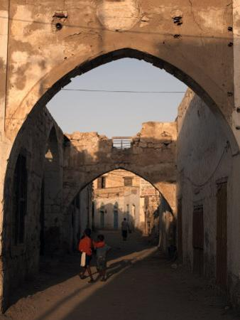 Coastal Town of Massawa on the Red Sea, Eritrea, Africa by Mcconnell Andrew