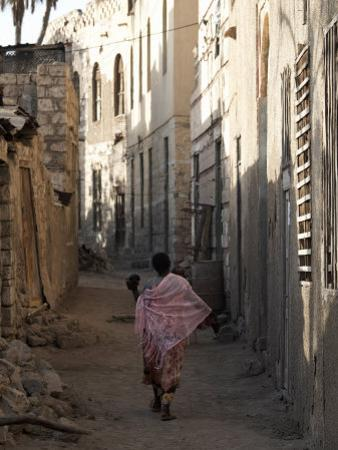 Daily Life in the Coastal Town of Massawa, Eritrea, Africa by Mcconnell Andrew