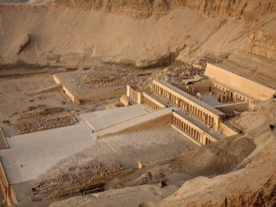 Deir Al Bahri, Funerary Temple of Hatshepsut, Thebes, UNESCO World Heritage Site, Egypt by Mcconnell Andrew