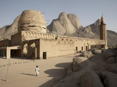 Khatmiyah Mosque at the Base of Taka Mountain, Kassala, Sudan, Africa by Mcconnell Andrew
