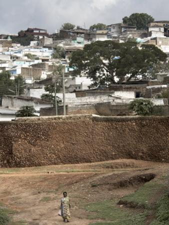 Outer Wall of the Ancient City of Harar, Ethiopia, Africa by Mcconnell Andrew