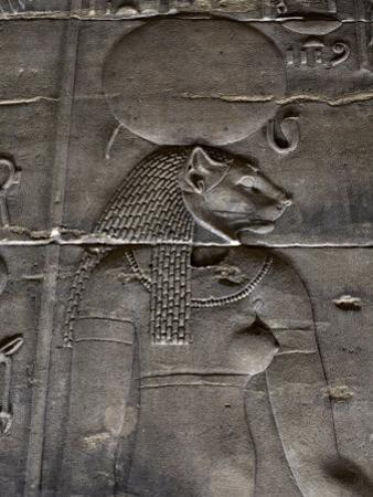 Relief Carvings Adorn the Walls of the Temple of Philae, Near Aswan, Egypt by Mcconnell Andrew