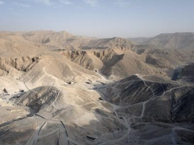 Valley of the Kings, Thebes, UNESCO World Heritage Site, Egypt, North Africa, Africa by Mcconnell Andrew