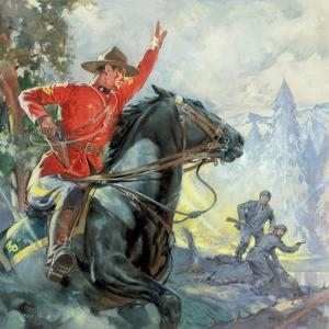Canadian Mounties by McConnell