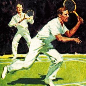 King George Vi Played in the Men's Doubles at Wimbledon in 1926 by McConnell