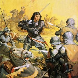 King Richard Iii in Battle by McConnell