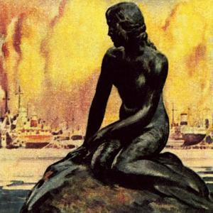 Little Mermaid Statue in Copenhagen by McConnell