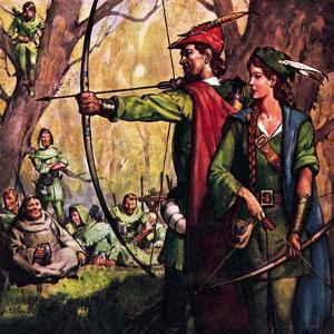 Robin Hood and Maid Marian by McConnell