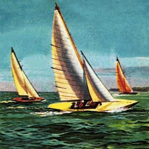 Sailing Boats by McConnell