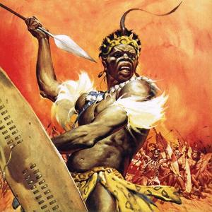 Zulu Warrior by McConnell