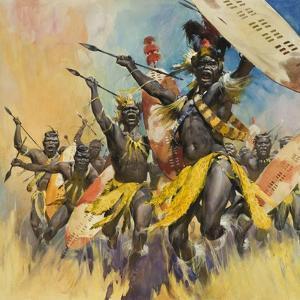 Zulu Warriors by McConnell