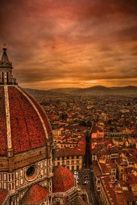 Florence Duomo at Sunset by McDonald P. Mirabile