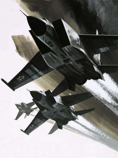 Mcdonnell Douglas F-15 Eagle Jet Fighter-Wilf Hardy-Giclee Print