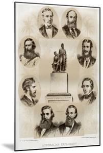 Australian Explorers, 1879 by McFarlane and Erskine