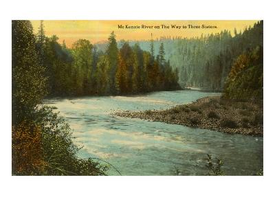 McKenzie River, Oregon--Art Print