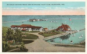 McKinley Beach, Yacht Club, Milwaukee, Wisconsin