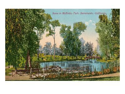 Mckinley Park, Sacramento, California--Art Print