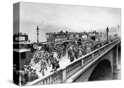 Morning 'Rush Hour, London Bridge, London, 1926-1927