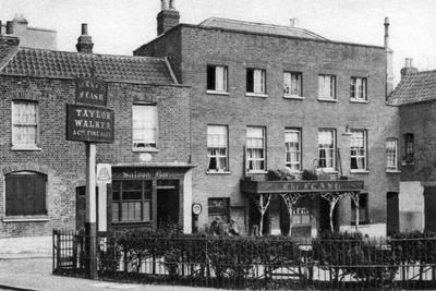 The Flask Ale House, Highgate Village, London, 1926-1927